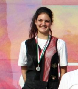 Adriana Rubini campionessa  Italiana del Settore Giovanile di Fossa Olimpica (calibro 20)