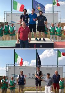 Scudetti regionali 2019 di F.O. dei Terza categoria e Veterani  a Dario Righi ed Angelo Breda.