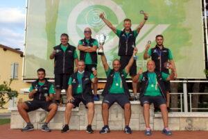Ai salernitani del Tav La Torretta la Coppa dei Campioni a squadre 2020